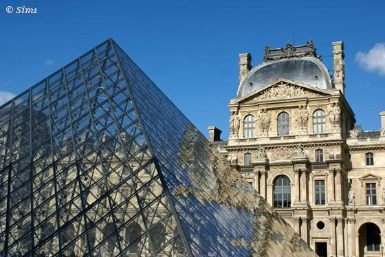 Sim1travels Louvre