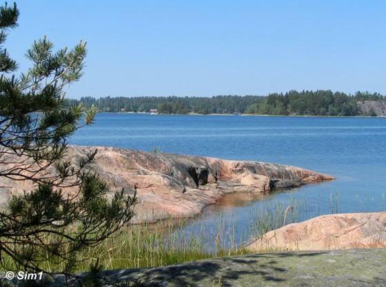 coastline Ängsö National Park
