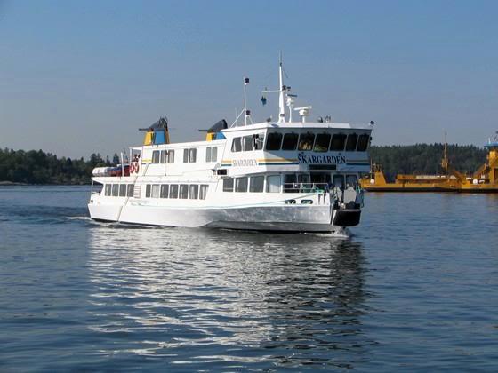 Sim1travels ferry Ängsö