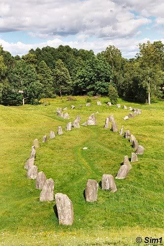 Stone-ships at Anundshög