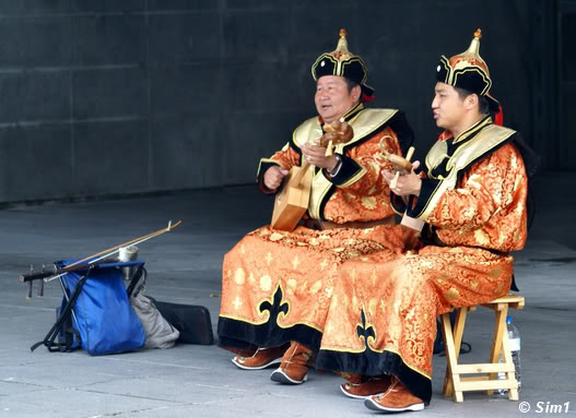 Sim1travels Mongolian musicians