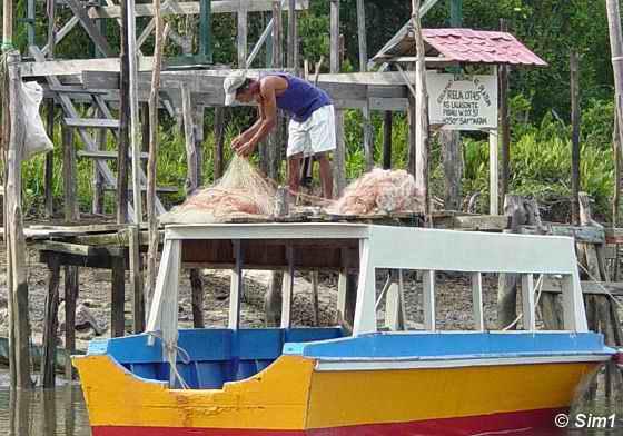 Fisherman at Lalasun Village