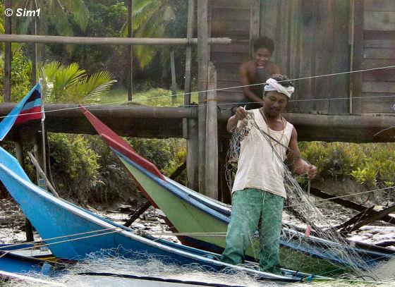 Untangling the fishing nets