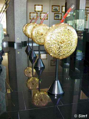 The Royal Swords and shields