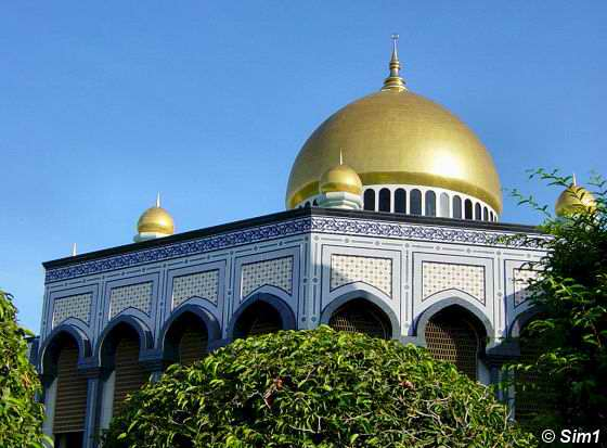 The Dome of the mosque
