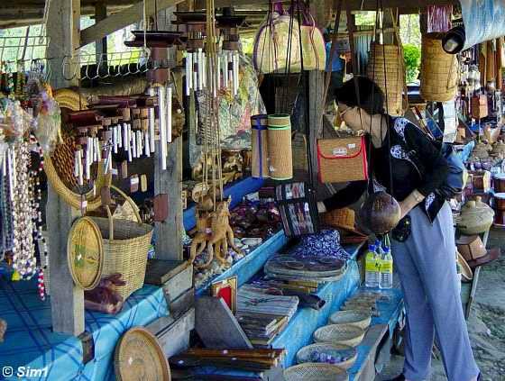 Little souvenir market