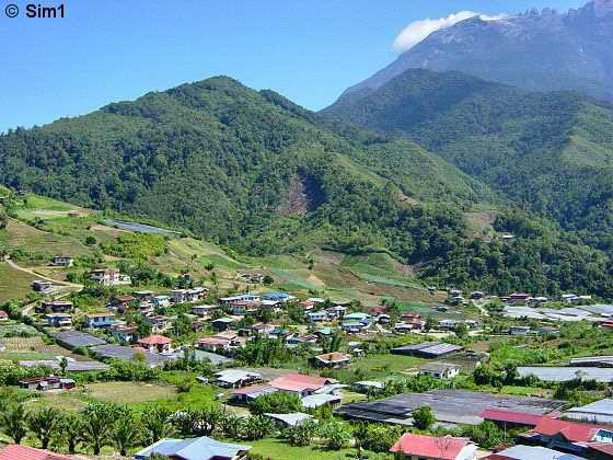 View from Kundasang