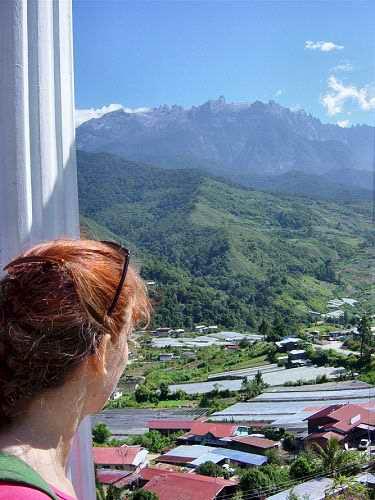 Enjoying the beautiful views