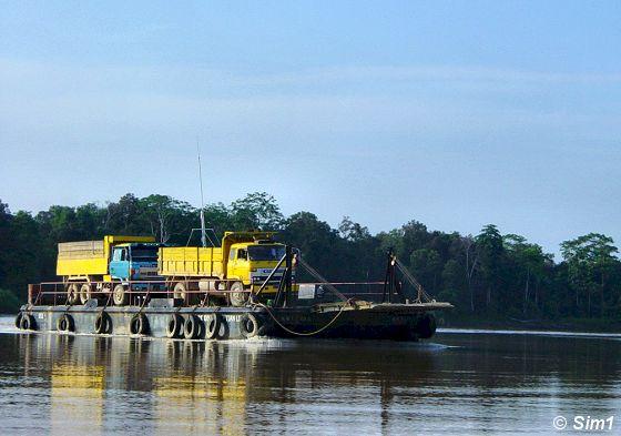 Transportation on the river