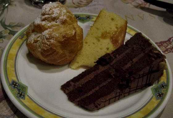 dessert, dessert and more dessert...