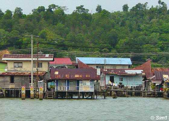 Kampong Ayer (Water village)