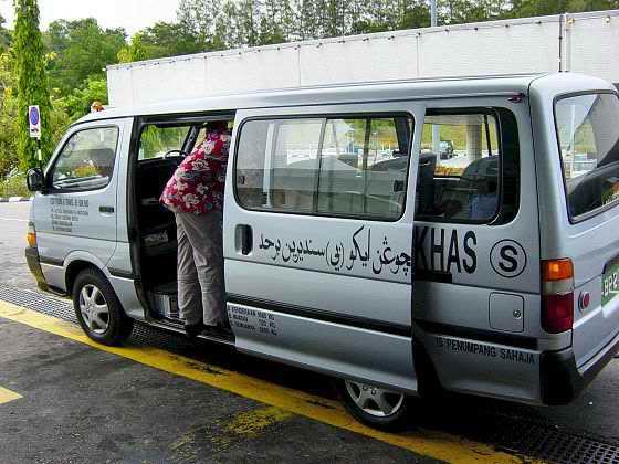 All aboard in the minibus!