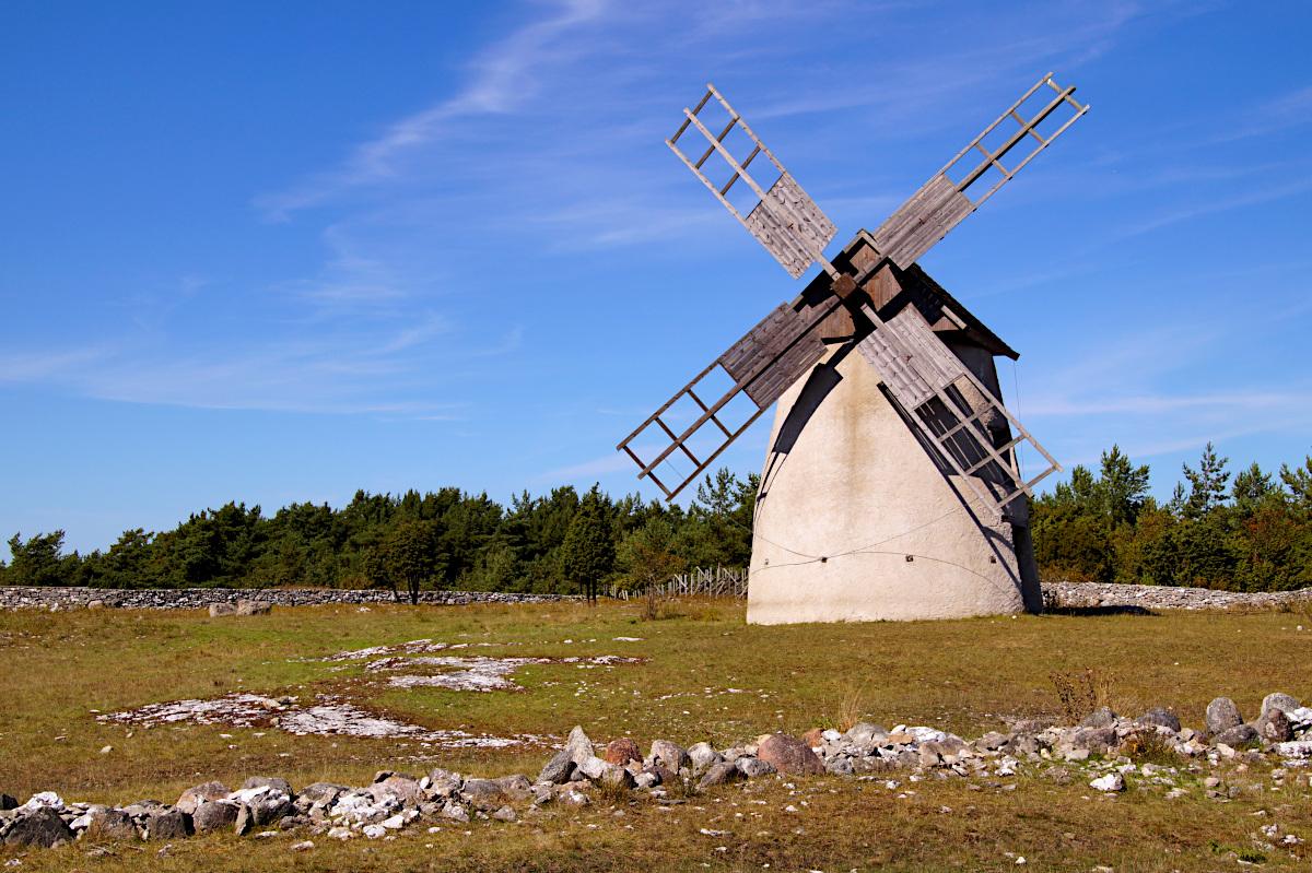 Windmill on Fårö