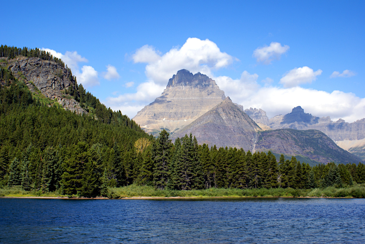 view of Mount Wilbur, Glacier National Park