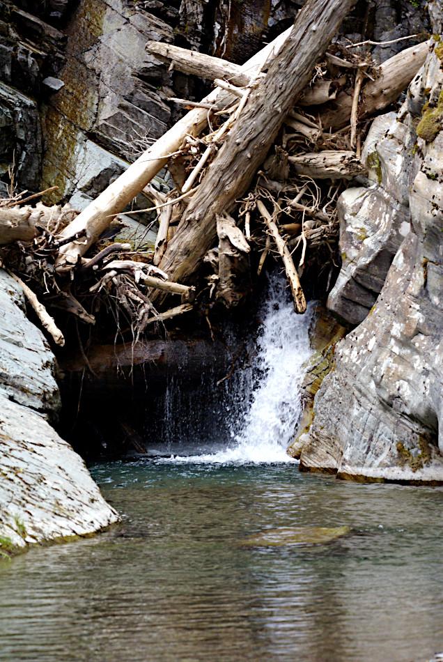 Hidden Falls, Cataract Creek, Glacier National Park