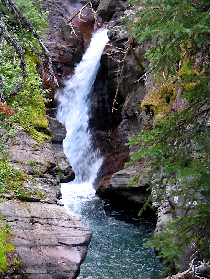 Hidden Falls, Glacier National Park