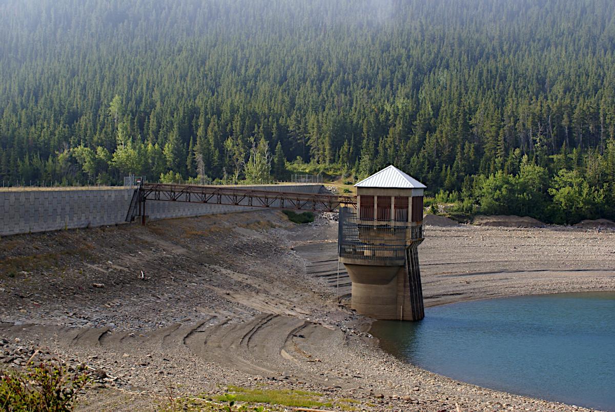 Lake Sherburne Dam, Glacier National Park