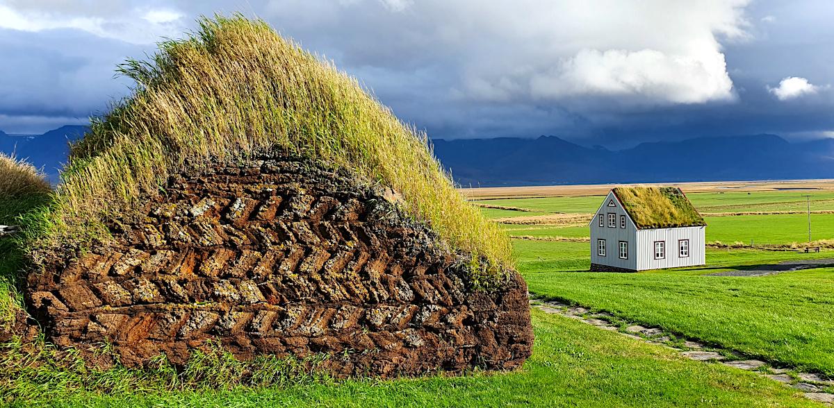 Peat wall, Glaumbær