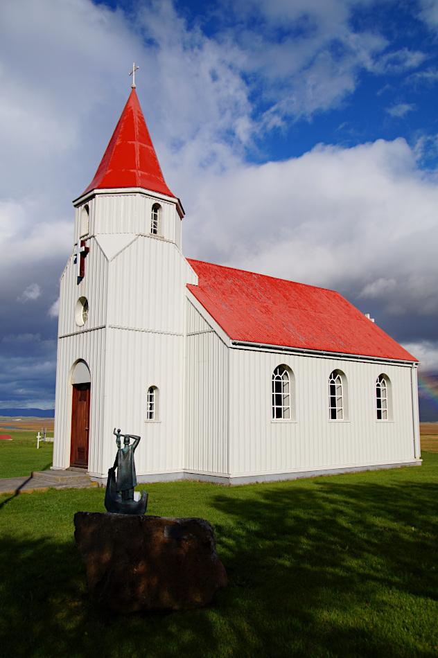 Glaumbaer church