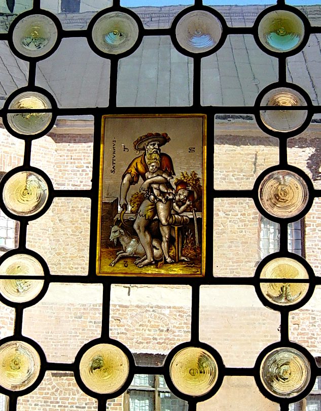 Windows in the throne room