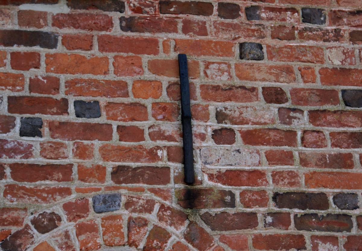 A real brick wall