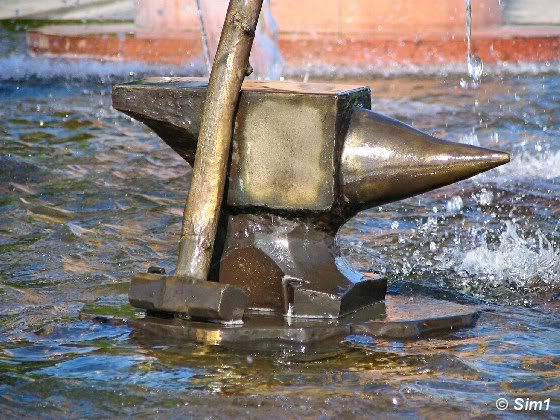 The city fountain