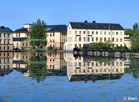 Views over the Eskilstunaån