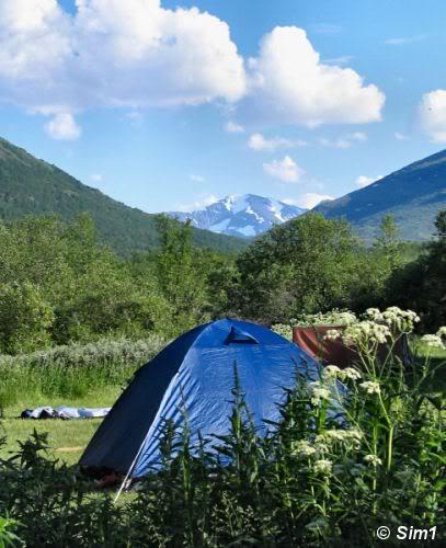 Camp at Abiskojaure