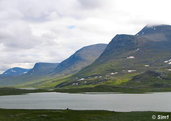 View over Lake Radujavri