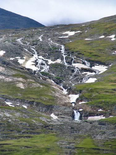 The waterfall across the lake from Radunjarga