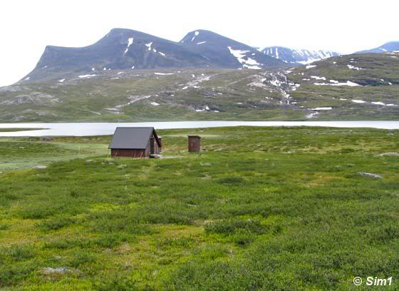 A last look back: the Mountain Hut at Rádunjárga