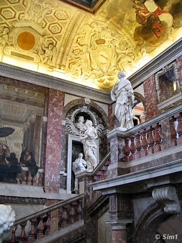 Inside Drottningholm