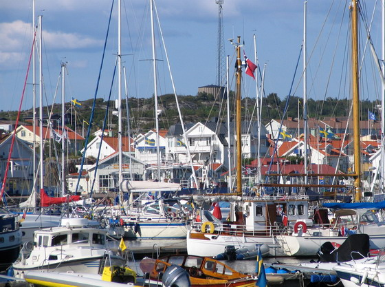 The harbour of Marstrand