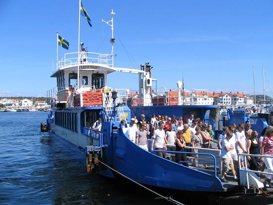 The ferry to Marstrand