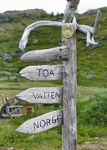 toa, vatten, Norge???