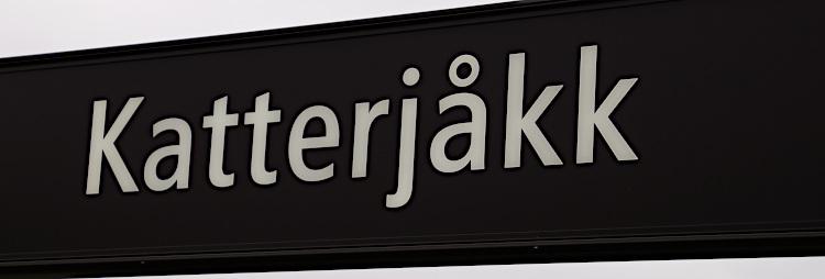 Katterjåkk sign