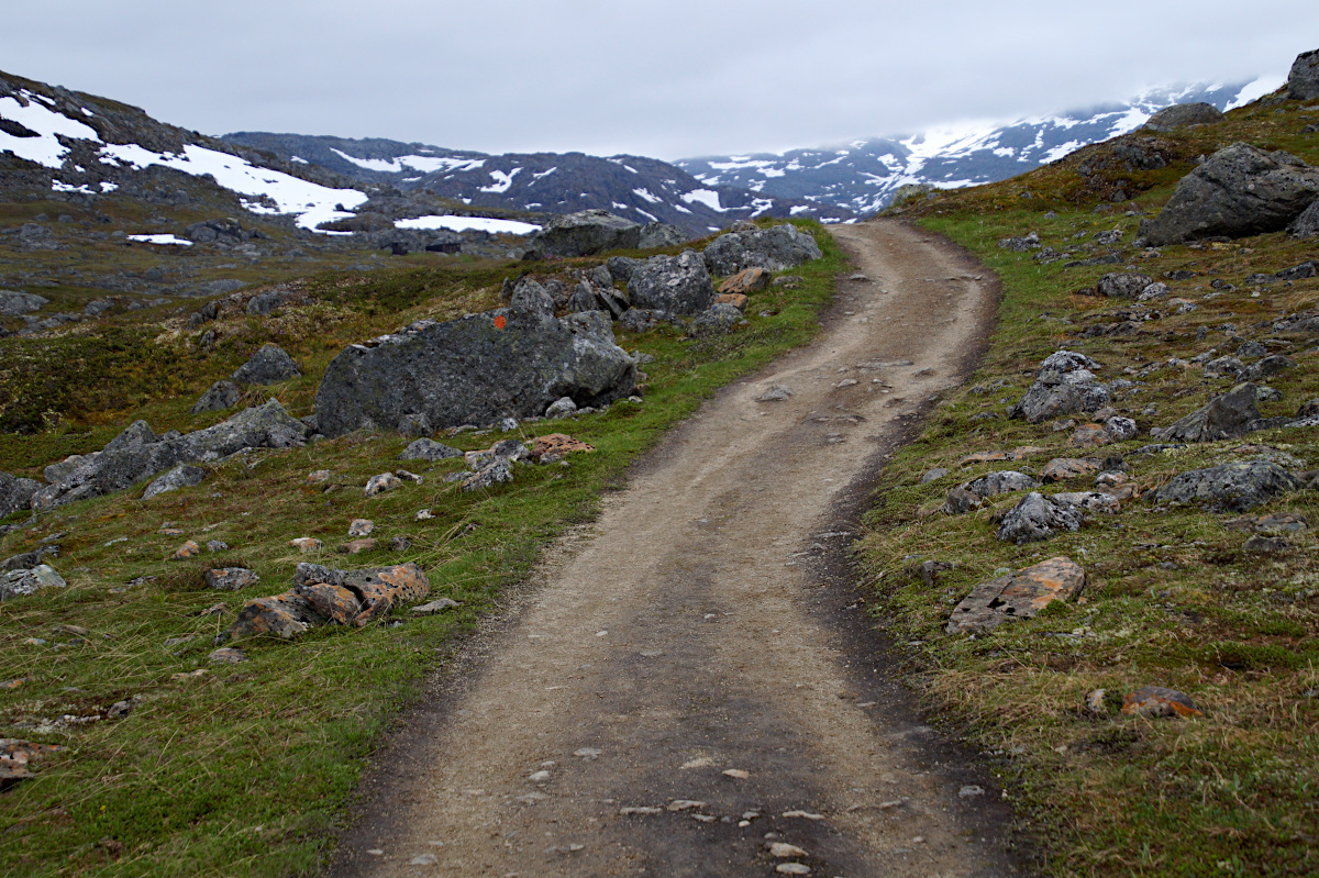 Easy hiking