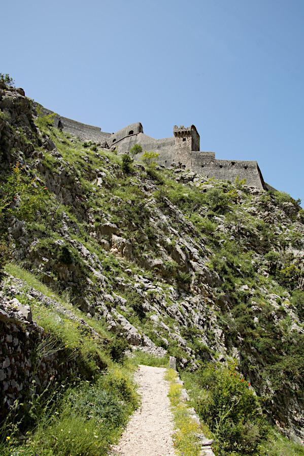 The hiking trail, Kotor