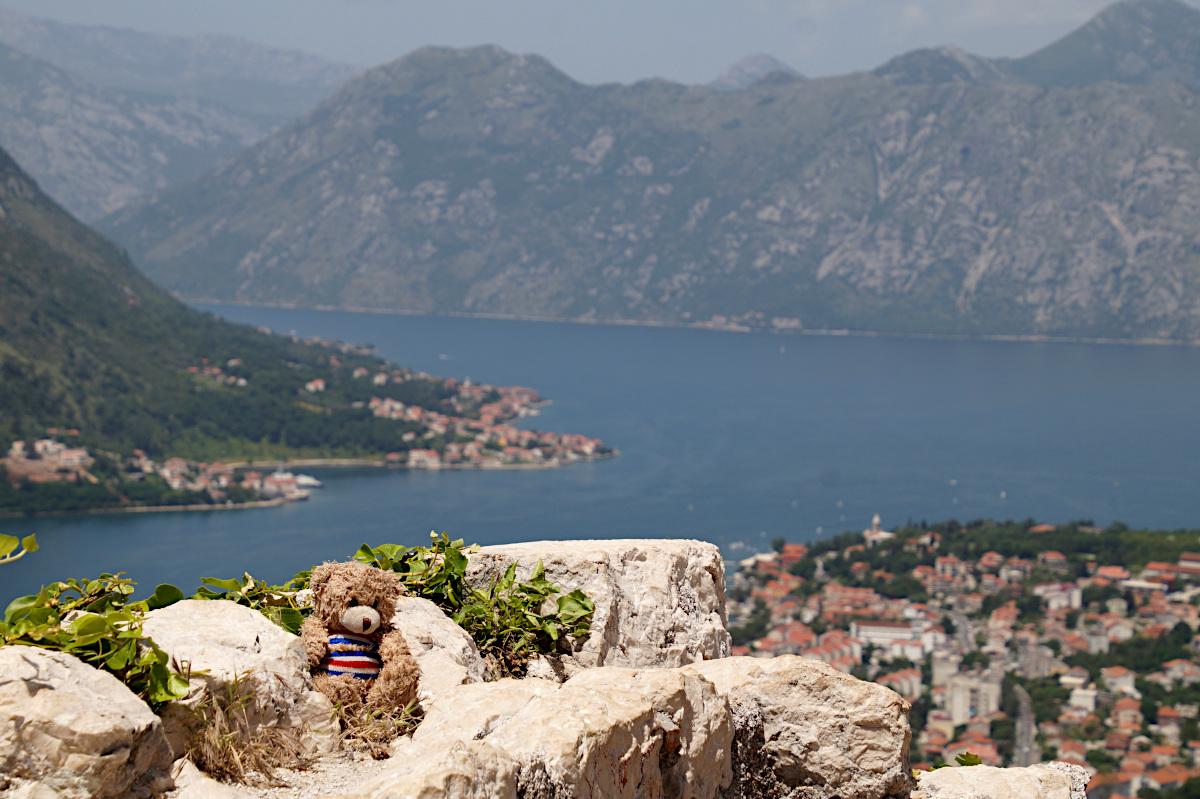 My mascotte Nalle, Bay of Kotor
