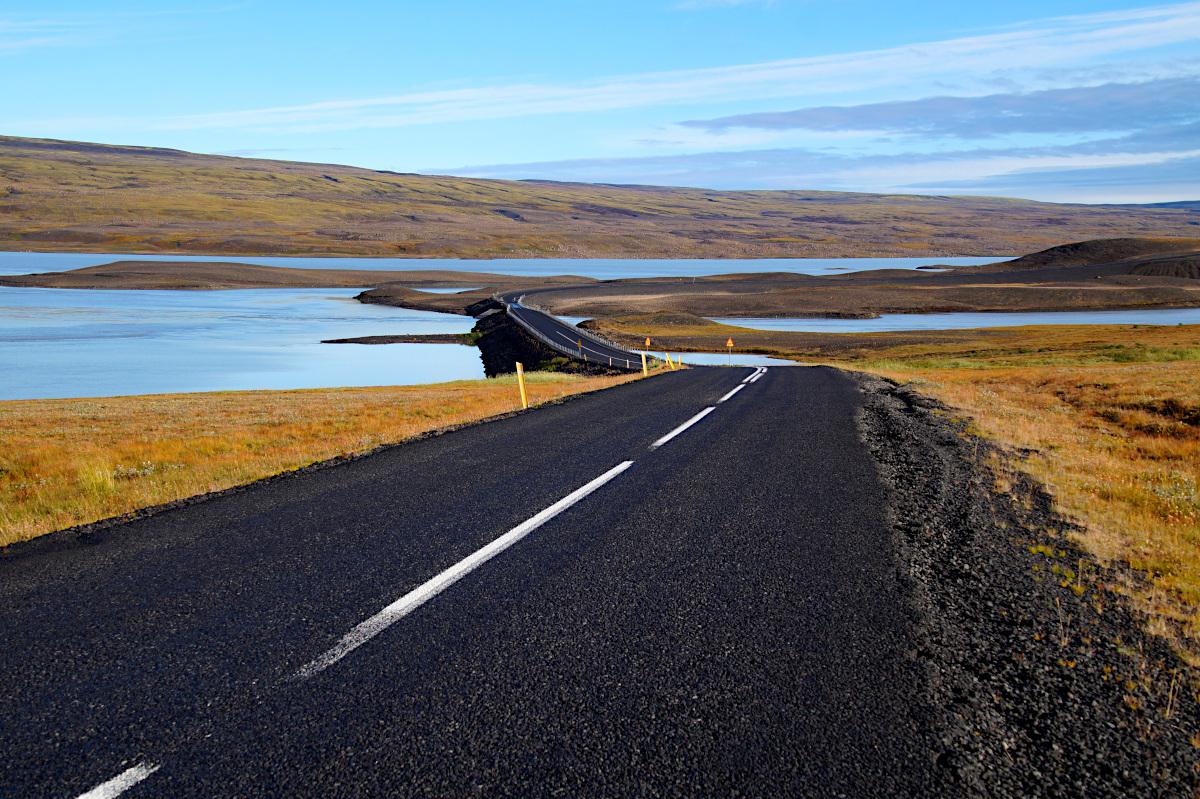 The road to Landmannalaugar