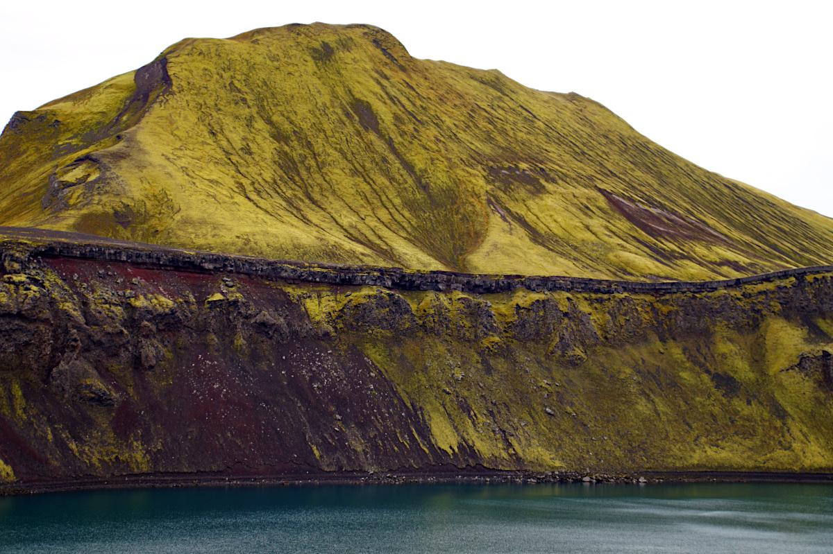 Hnausapollur Crater