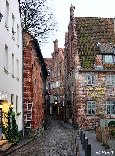 Picturesque alleyway and Puppet Theatre Museum