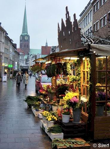 Christmas market in Luebeck