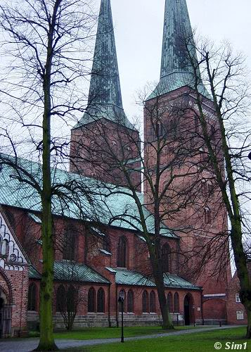 The Cathedral in Luebeck