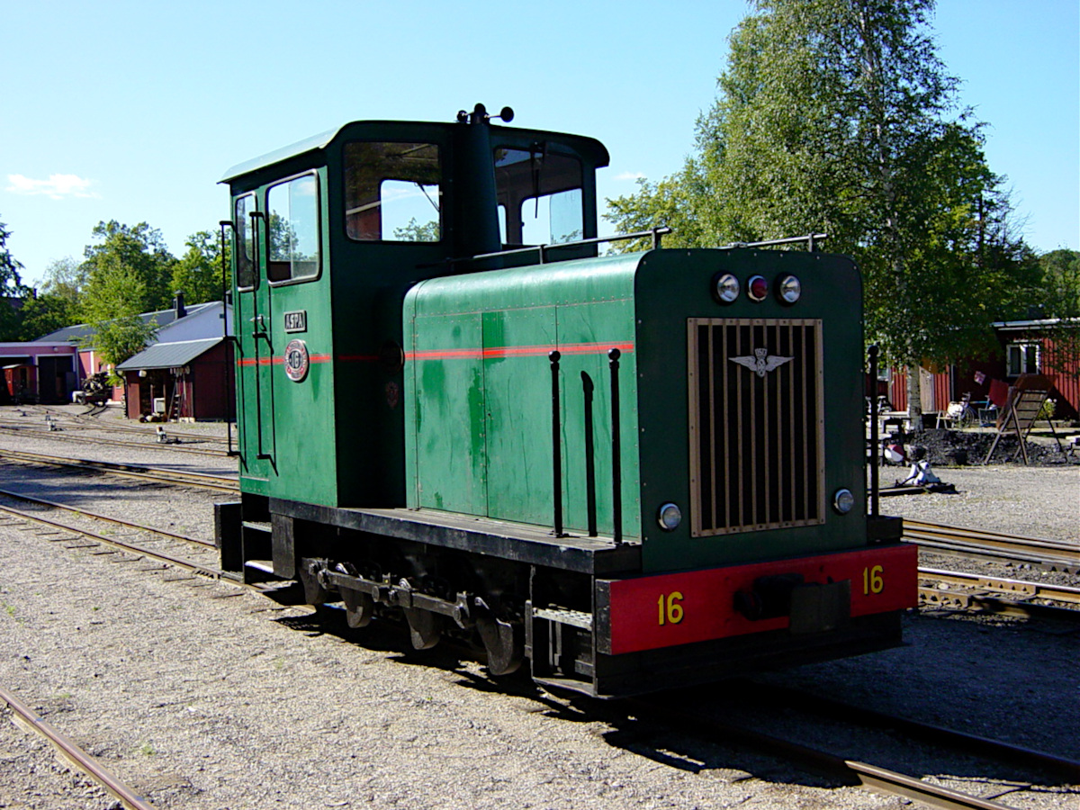 Mariefred train