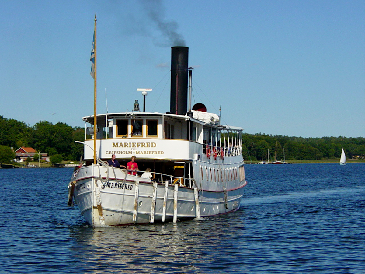 Steamboat Mariefred