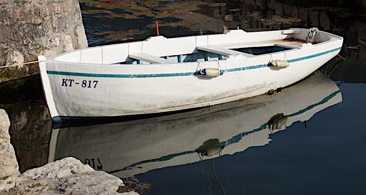 Fishing boats, Perast