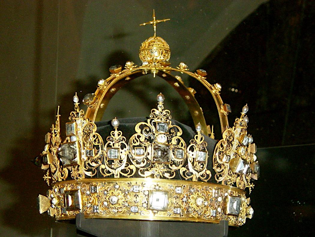 Karl IX crown, sceptre and apple