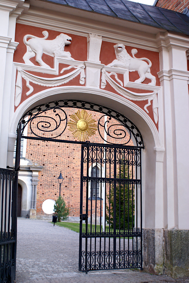 The gates to the Cathedral