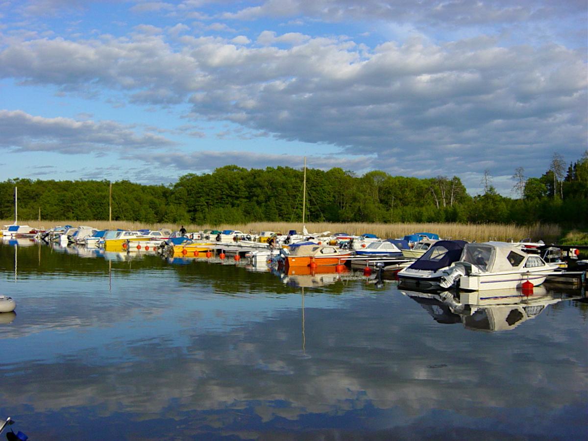 the marina of Sundbyholm